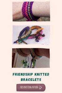 Friendship Bracelets Free Knitting Pattern