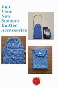 Periwinkle Petite Purse Free Knitting Pattern