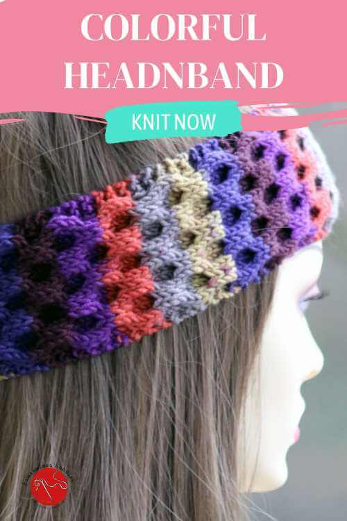 Flower Power Headband Free Knitting Pattern