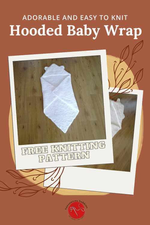 Hooded Baby Wrap Free Knitting Pattern