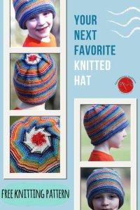 Inside Outside Hat Free Knitting Pattern