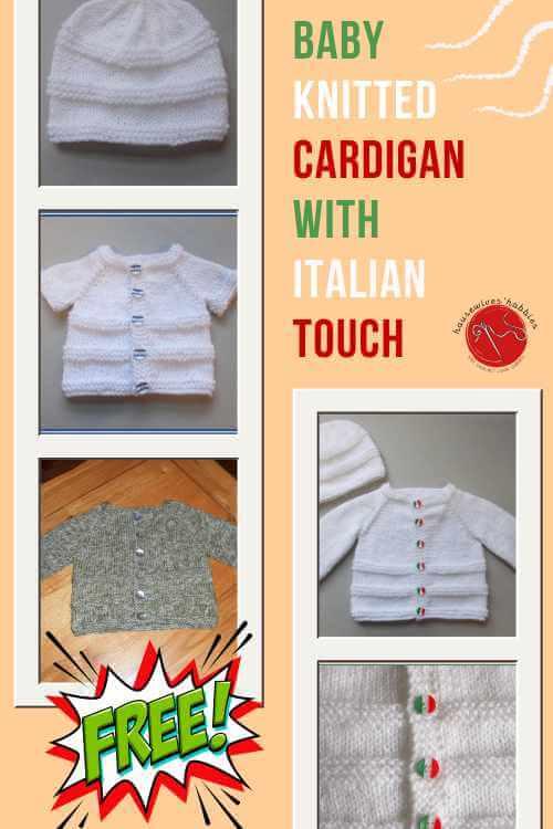 La Dolce Vita Baby Cardigan Free Knitting Pattern