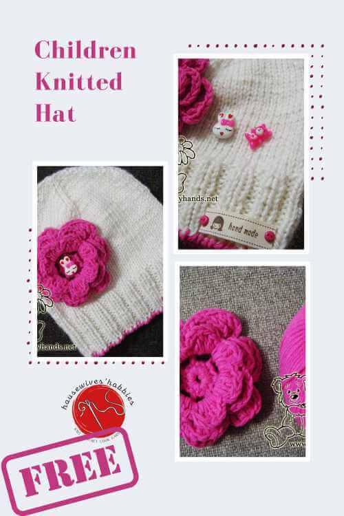 Spring Dreams Hat Free Knitting Pattern