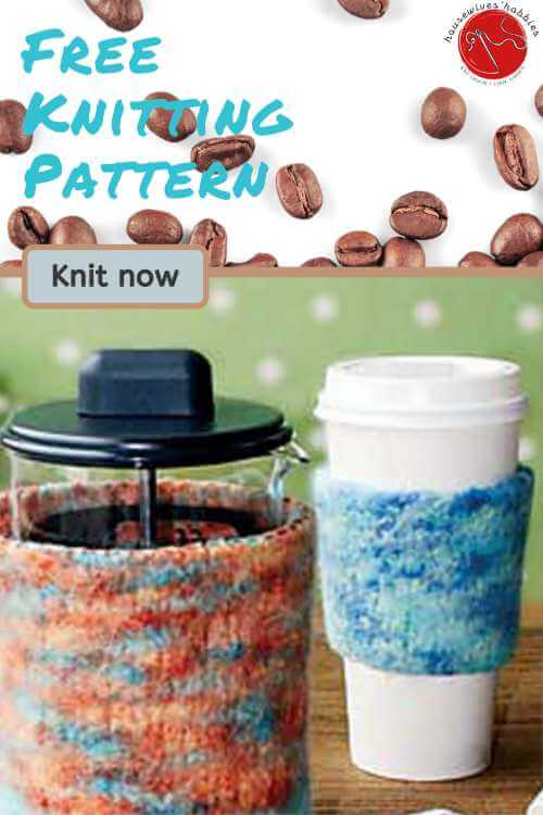 Felted-Knit-Coffee-Cozies-Free-Knitting-Pattern