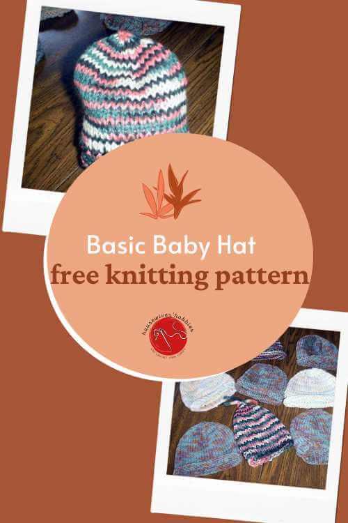 Basic Baby Hat Free Knitting Pattern