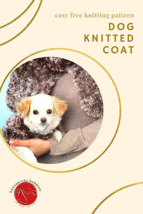 Free Knitting Pattern Dog Coat